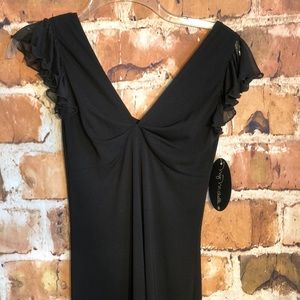 My Michelle little black dress size small NWT